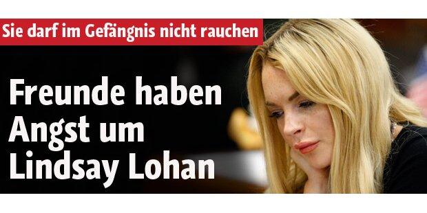 Freunde haben Angst um Lindsay Lohan