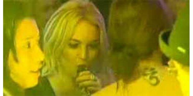 Lindsay Lohan hat schon wieder getrunken
