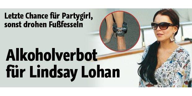 Lohan: Jetzt Alkohol-Verbot!