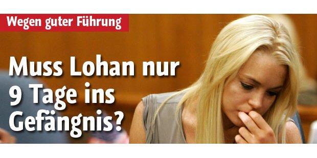 Muss Lohan nur 9 Tage im Häfen bleiben?