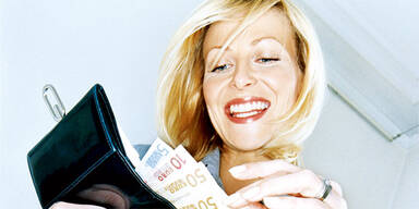 Lohn Geld Brieftasche