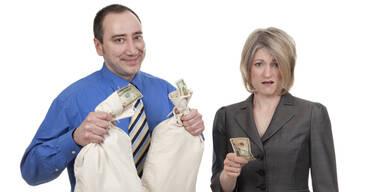 Lohnunterschied zwischen Mann und Frau