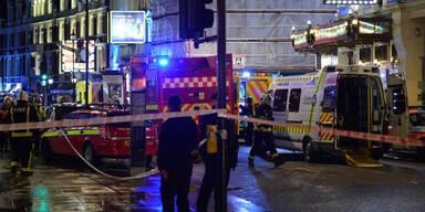 Decke in Londoner Theater eingestürzt