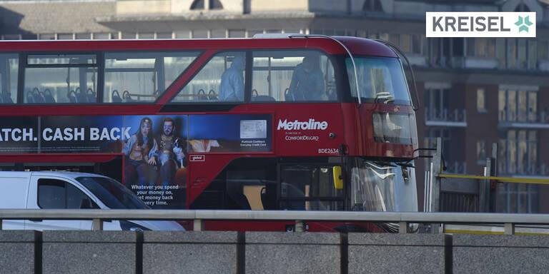 Londons Kultbusse setzen auf Kreisel-Batterien