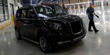 Londoner Taxis erhalten Hybrid-Motoren