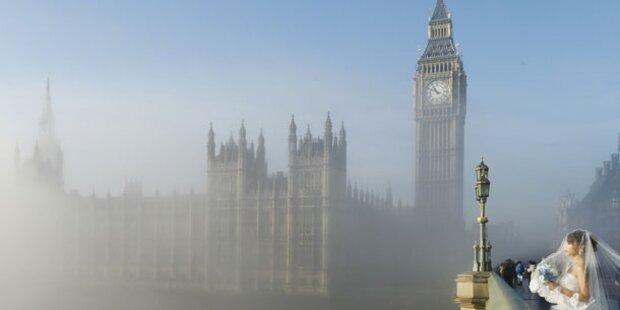 Luftraum über London gesperrt