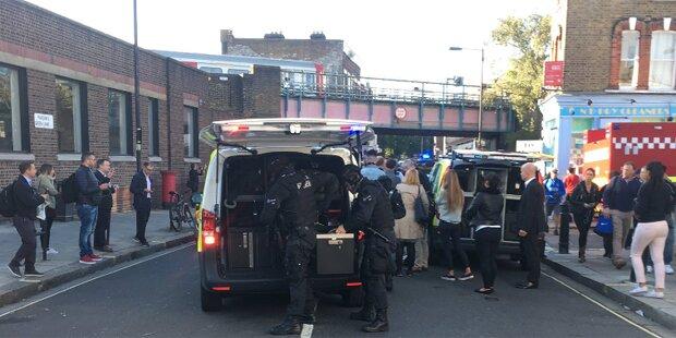 London-Terror: Polizei meldet