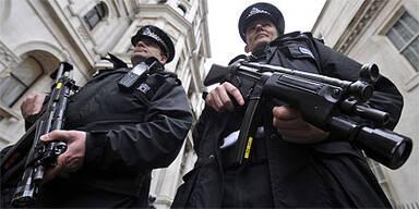 London Terror Polizei