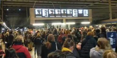 Bilder zeigen Massenflucht aus London