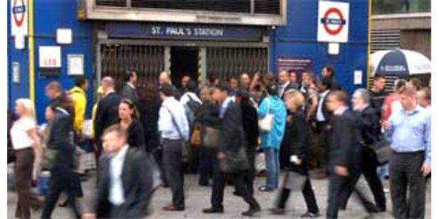 Chaos wegen Londoner U-Bahn-Streik