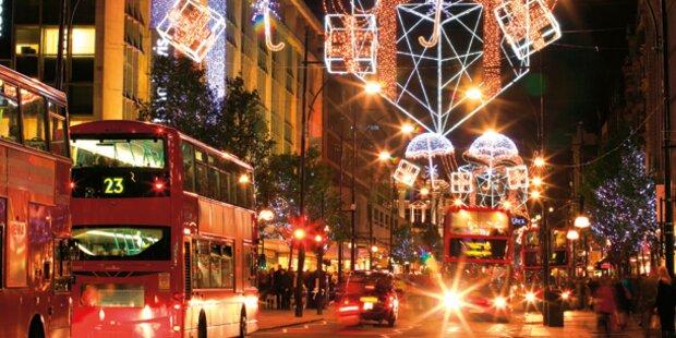 Schöne Shopping-Trips im Advent