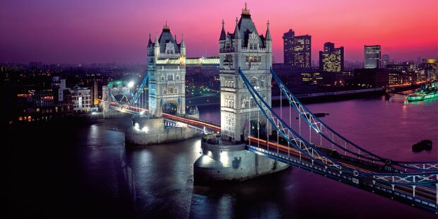 London: Feiern mit der Queen