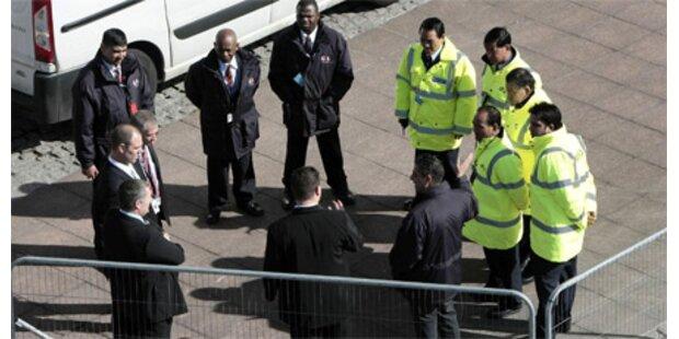 Fünf Terrorverdächtige in GB verhaftet