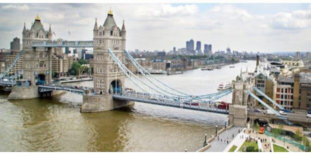 London hat die schlechtesten Hotels
