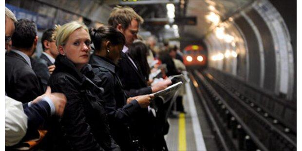 U-Bahn Streik legt London lahm