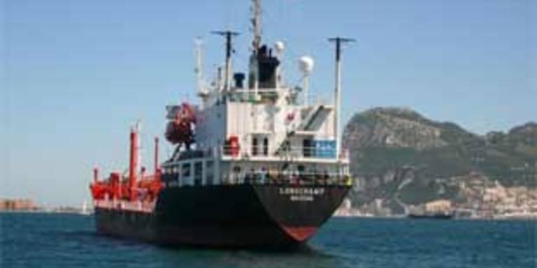 Piraten kapern deutschen Tanker