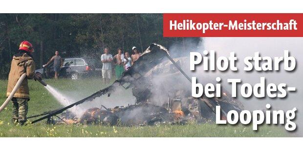 Deutscher Pilot stirbt bei Todes-Looping