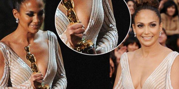 Jennifer Lopez lacht über Nippel-Debakel