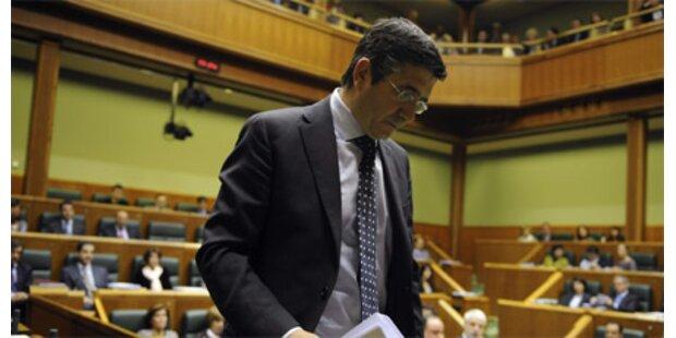 Sozialist Regierungschef im Baskenland