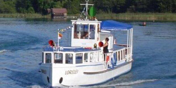 Nostalgieschiff am Wörthersee evakuiert