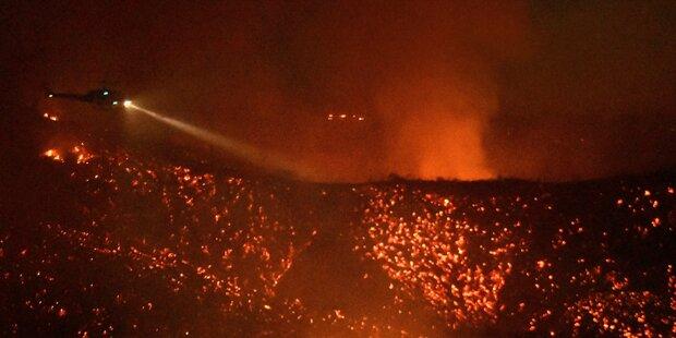 5.000 Menschen vor Bränden in L.A. evakuiert