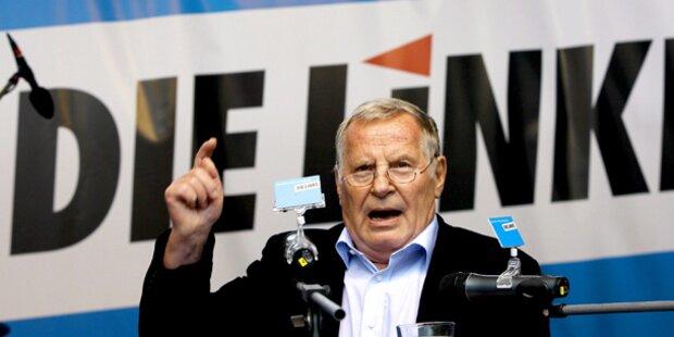 Ex-Chef der deutschen Linkspartei gestorben
