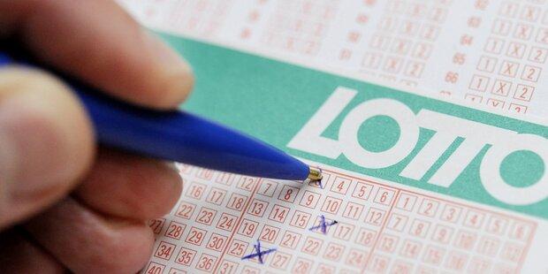 Lotto: Glückspilz gewinnt 6 Millionen Euro