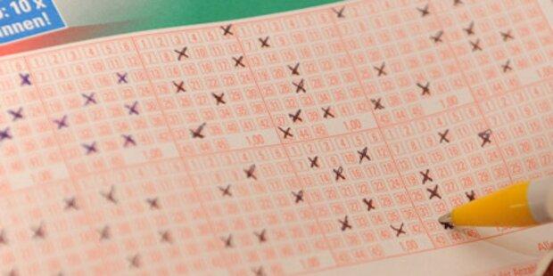 Lotto: Solosechser mit 1,8 Millionen Euro