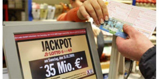 Lotto-Jackpot in Deutschland wurde geknackt