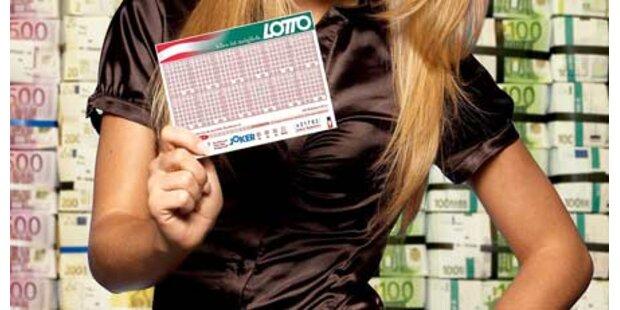 Tiroler räumt 3,3 Millionen Euro ab