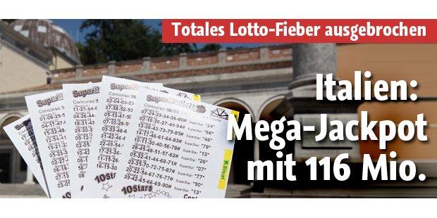 Italien: 116,5 Mio. Euro im Jackpot