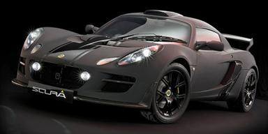 Dunkles Sondermodell der(s) Lotus Exige