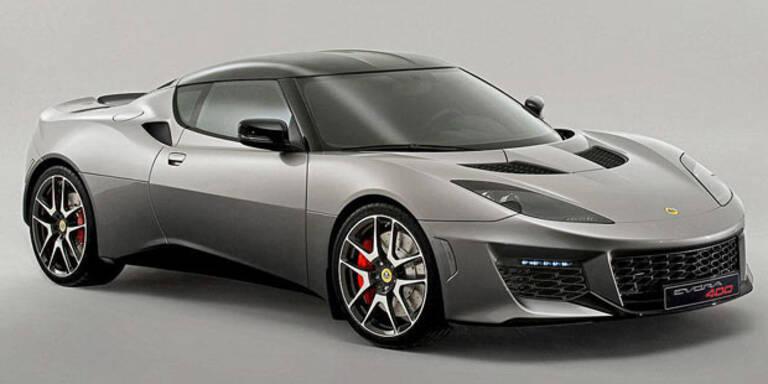 Evora 400: Stärkster Serien-Lotus kommt