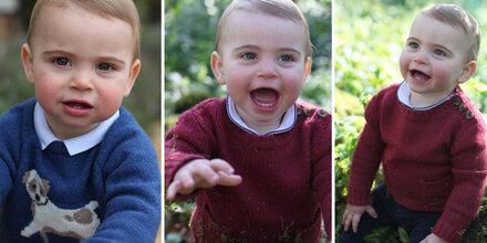 Erste Zähnchen! Neue Bilder von Prinz Louis