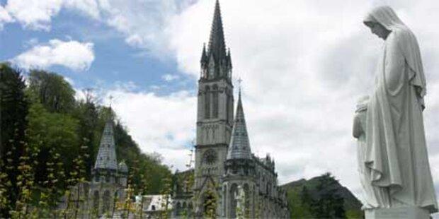 Bomben-Alarm im französischen Lourdes