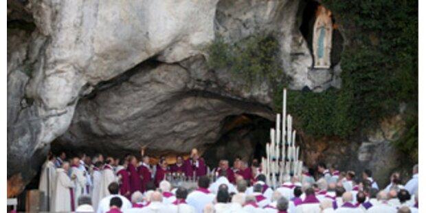 Lourdes feiert Jubiläum mit 50.000 Pilgern