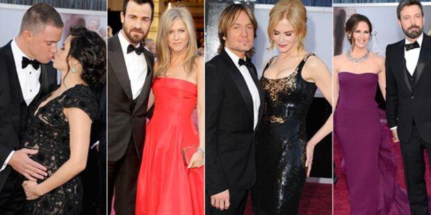 Oscars 2013: Die schönsten Liebes-Paare