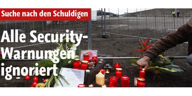 Security-Warnungen wurden alle ignoriert