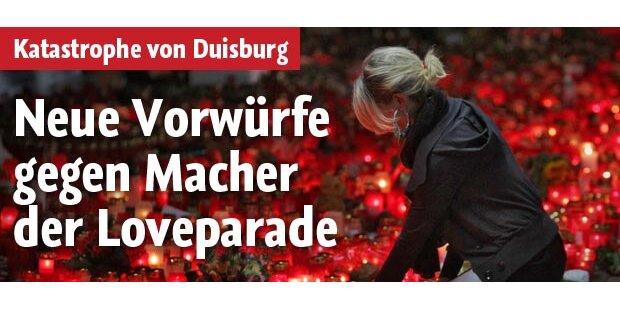 Neue Vorwürfe gegen Loveparade-Macher