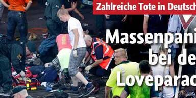 Zahlreiche Tote bei der Loveparade