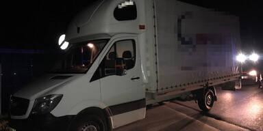 Schlepper im Bezirk Bruck an der Leitha festgenommen
