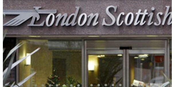 Britische London Scottish Bank pleite