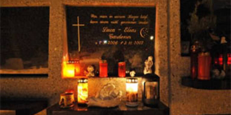 Das Urnengrab von Luca in Achenkirch