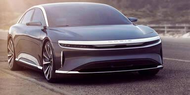 Neuer Tesla-Gegner mit über 830 km Reichweite