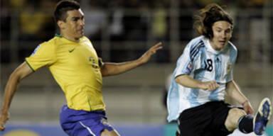Brasilien zum dritten Mal torlos