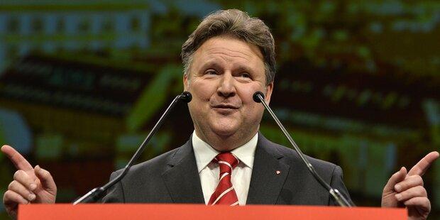 Der 1. Blick auf Ludwigs SPÖ-Team