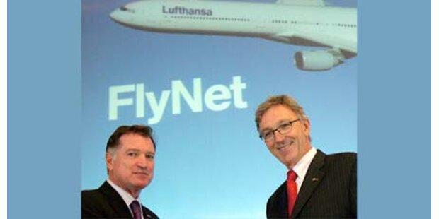 Lufthansa: Ab 2010 Internet an Board