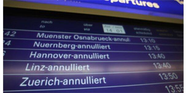 500 Flüge fallen Lufthansa-Streik zum Opfer