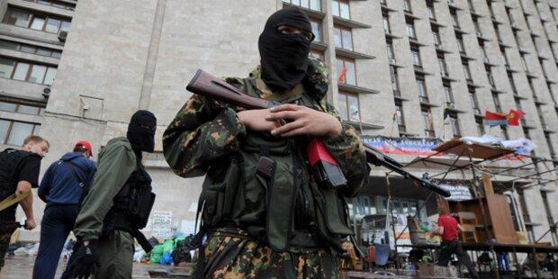 Ukraine: 300 prorussiche Kämpfer getötet