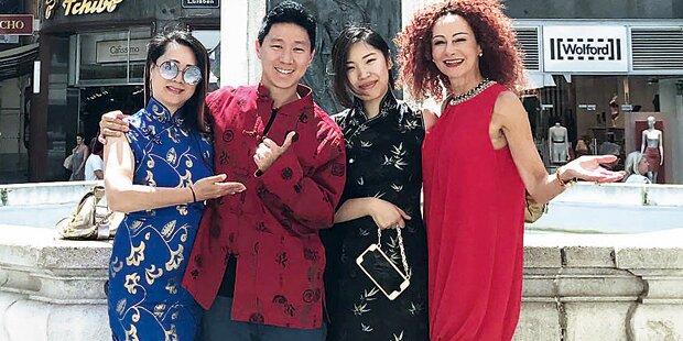 Mausi Lugner plant chinesische Hochzeit